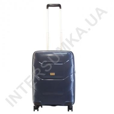 Купить Полипропиленовый чемодан Airtex малый 234/20 темно-синий (42 литра)