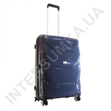 Заказать Полипропиленовый чемодан Airtex средний 234/24 темно-синий (70 литров)