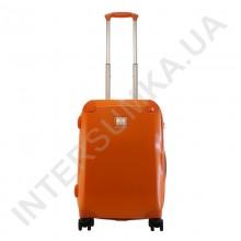 Дорожный чемодан на колесах Airtex малый 238/20 оранжевый (33 литра)
