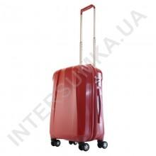 чемодан Airtex малый 239/20 бордовый (вишня), объем 33 литра, полипропилен