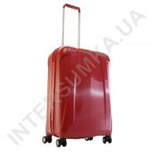 Полипропиленовый чемодан Airtex средний 239/24 бордовый/вишневый (67 литров)