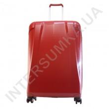 Чемодан на колесах Airtex большой 239/28 бордовый (вишневый) (96литров) из полипропилена