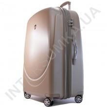 Поликарбонатный чемодан Airtex большой 902/28 цвет шампанское (110 литров)