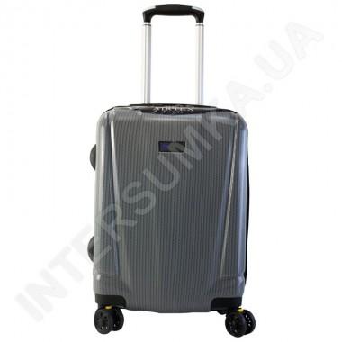 Заказать Поликарбонатный чемодан Airtex малый 955/20 серый (41 литр)