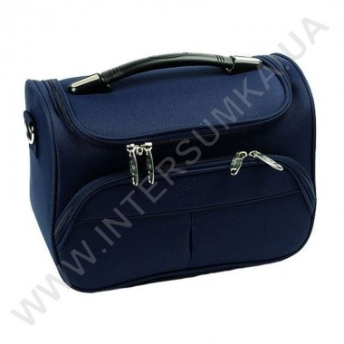 Купить бьюти-кейс (сумка на чемодан, косметичка) Airtex 2897/VA синий