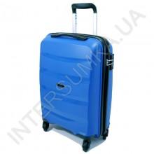 Полипропиленовый чемодан Airtex малый 229/20blue (42 литра)