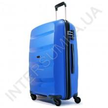 Полипропиленовый чемодан Airtex средний 229/24blue (70 литров)