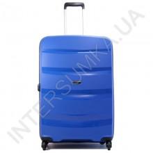 Полипропиленовый чемодан Airtex большой 229/28 синий (95 литров)