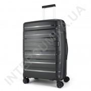 Полипропиленовый чемодан средний CONWOOD PPT002N/24 чёрный  (73 литра)