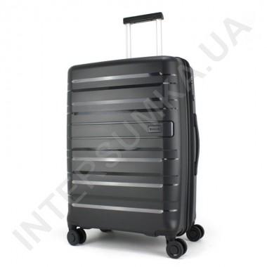 Заказать Полипропиленовый чемодан средний CONWOOD PPT002N/24 чёрный  (73 литра) в Intersumka.ua
