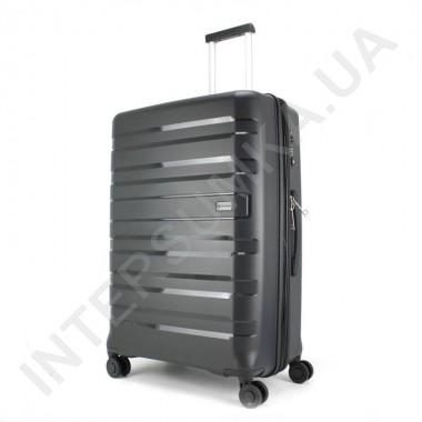 Заказать Полипропиленовый чемодан большой CONWOOD PPT002N/28 чёрный (109 литров) в Intersumka.ua