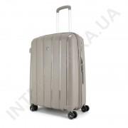 Полипропиленовый чемодан средний CONWOOD PPT001/24 кофейный (75 литров)