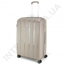 Поліпропіленова валіза велика CONWOOD PPT001/28 кавова (114 літрів)