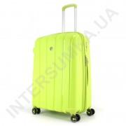 Полипропиленовый чемодан средний CONWOOD PPT001/24 лайм (75 литров)
