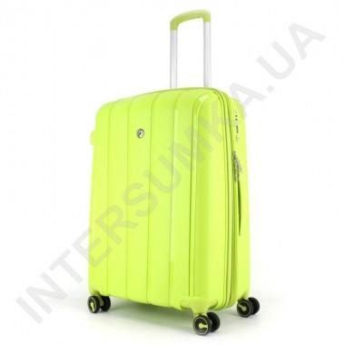 Заказать Полипропиленовый чемодан средний CONWOOD PPT001/24 лайм (75 литров) в Intersumka.ua
