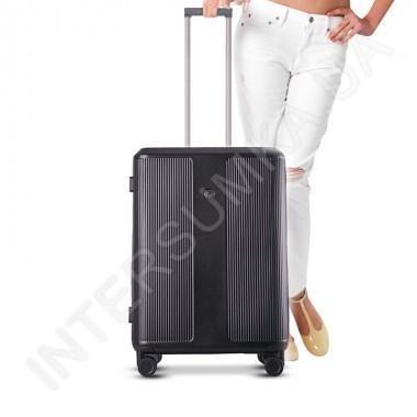 Заказать Поликарбонатный чемодан CONWOOD малый PC129/20 черный (37,5 литров) в Intersumka.ua