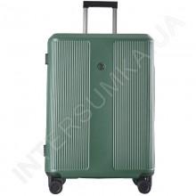 Поликарбонатный чемодан большой CONWOOD PC129/28 зеленый  (104 литра)