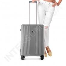 Полікарбонатна валіза CONWOOD мала PC129/20 срібло (37,5 літрів)