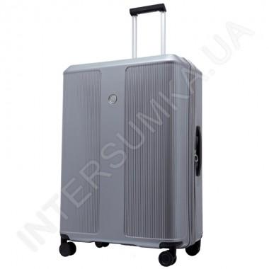 Заказать Поликарбонатный чемодан большой CONWOOD PC129/28 серебро (104 литра) в Intersumka.ua