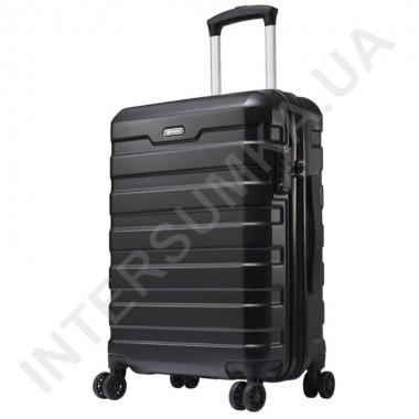 Заказать Поликарбонатный чемодан средний CONWOOD CT866/24 черный (75 литров) в Intersumka.ua