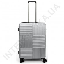 Поликарбонатный чемодан средний CONWOOD PCT097/24 серебро (64 литра)