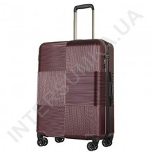 Полікарбонатна валіза велика CONWOOD PCT097/28 бордова (98 літрів)