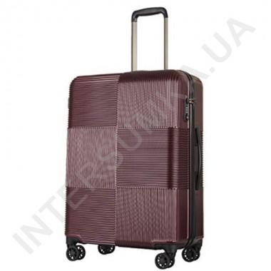 Заказать Поликарбонатный чемодан средний CONWOOD PCT097/24 бордовый (64 литра) в Intersumka.ua