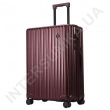 Поликарбонатный чемодан CONWOOD малый PC131/20 бордовый (44 литра)