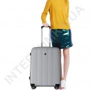 Полипропиленовый чемодан CONWOOD малый PPT001/20 серый (43 литра)