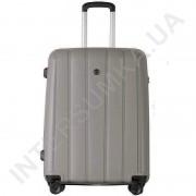 Поліпропіленовий чемодан середній CONWOOD PPT001/ 24 сірий(75 літрів)