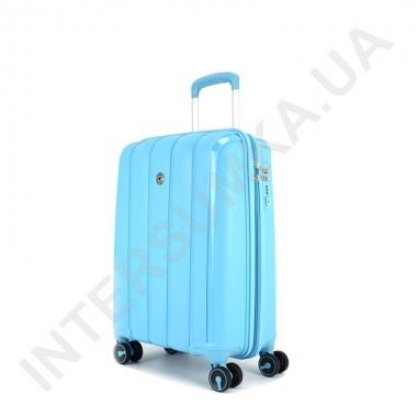Замовити Поліпропіленова валіза CONWOOD мала PPT001/20 блакитна (43 літра) в Intersumka.ua