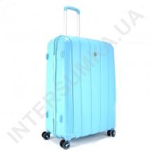 Поліпропіленовий чемодан середній CONWOOD PPT001/24 блакитний (75 літрів)