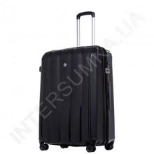 Поліпропіленовий чемодан середній CONWOOD PPT001/24 чорний (75 літрів)