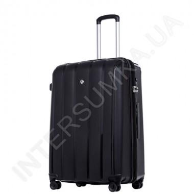 Замовити Поліпропіленовий чемодан середній CONWOOD PPT001/24 чорний (75 літрів) в Intersumka.ua