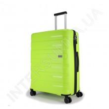 Полипропиленовый чемодан средний CONWOOD PPT002N/24 лайм (73 литра)