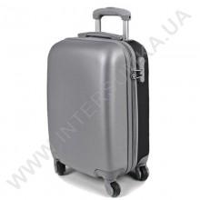 Поликарбонатный чемодан DavidJones малый 1010grey\20 (43 литра)