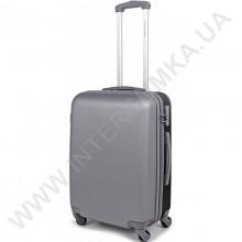 Поликарбонатный чемодан DavidJones средний 1010grey\24 (69 литров)