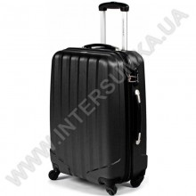 Поликарбонатный чемодан DavidJones средний 1011black\24 (69 литров)