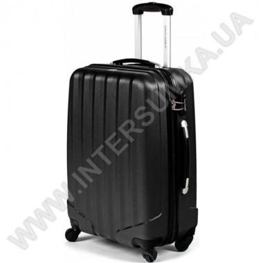 Заказать Поликарбонатный чемодан DavidJones средний 1011black\24 (69 литров) в Intersumka.ua