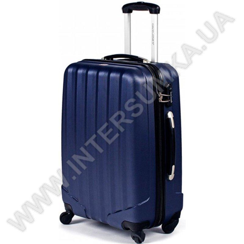 1e0af8a69b51 купить поликарбонатный чемодан DavidJones большой 1011blue\28 ...