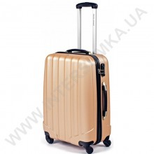 Поликарбонатный чемодан DavidJones большой 1011gold\28 (110 литров)
