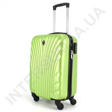 Заказать Чемодан малый Wallaby 024/19 лаймовый (33 литра) из ABS пластика в ручную кладь в Intersumka.ua