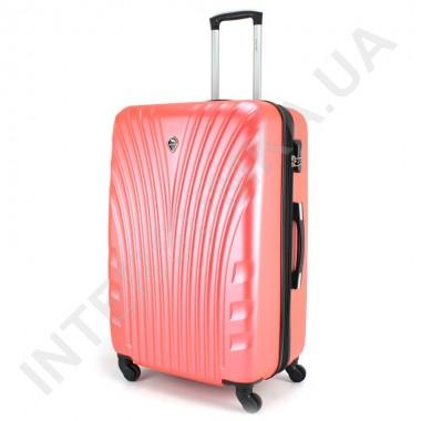 Заказать Большой чемодан  Wallaby 024/27 коралловый (92 литра) на 4 колесах из АБС пластика в Intersumka.ua