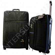 Комплект чемодан большой Wallaby 1163/27 (98 литров) +сумка на колёсах средняя Wallaby D9030/23 (объем 67л)