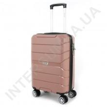 Полипропиленовый чемодан Wallaby малый 126-10/20 кофейный (38 литров)