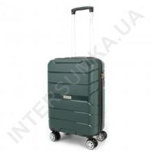 Полипропиленовый чемодан Wallaby малый 126-10/20 зелёный (38 литров)