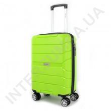 Полипропиленовый чемодан Wallaby малый 126-10/20 лаймовый (38 литров)