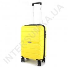 Полипропиленовый чемодан Wallaby малый 126-10/20 желтый (38 литров)