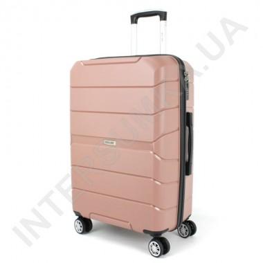 Заказать Полипропиленовый чемодан Wallaby средний 126-10/24 кофейный (78 литров) в Intersumka.ua