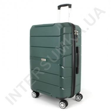 Заказать Полипропиленовый чемодан Wallaby средний 126-10/24 зелёный (78 литров) в Intersumka.ua